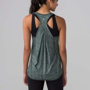 Lululemon | Essentials Tank Dark Forest Green 10